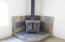 2487 N Silverside Dr, Otis, OR 97368 - 321-596865 Wood stove