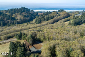 T/L 2100 Aeolian Way, Neskowin, OR 97149 - Aerial Build site to Ocean