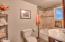 4301 NW Cherokee Ln., Newport, OR 97365 - Guest Bathroom