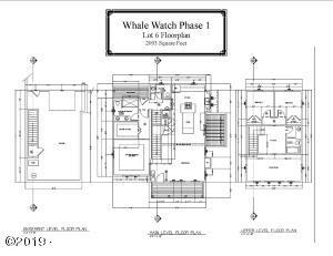 730 NE Lillian Ln, Depoe Bay, OR 97341 - Whale Watch: Lot 6 Floorplan