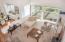 4175 N Hwy 101, A-4, Depoe Bay, OR 97341 - Living Room - Looking Down