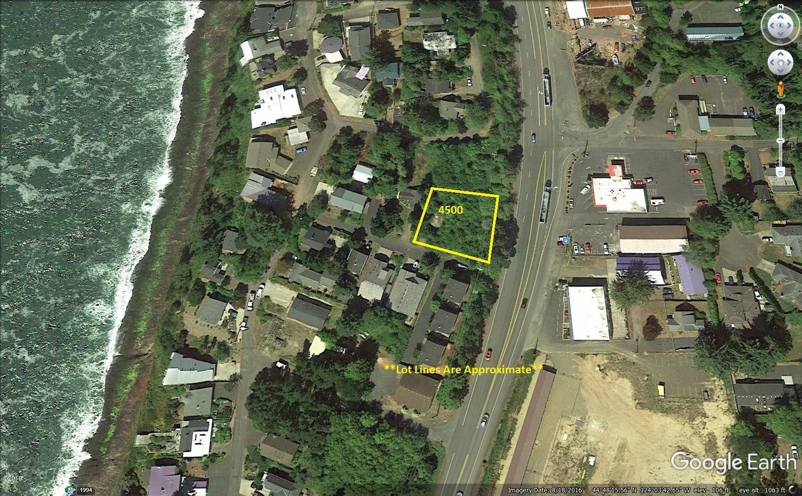 25 SW Johnson Street, Depoe Bay, OR 97341 - Aerial View