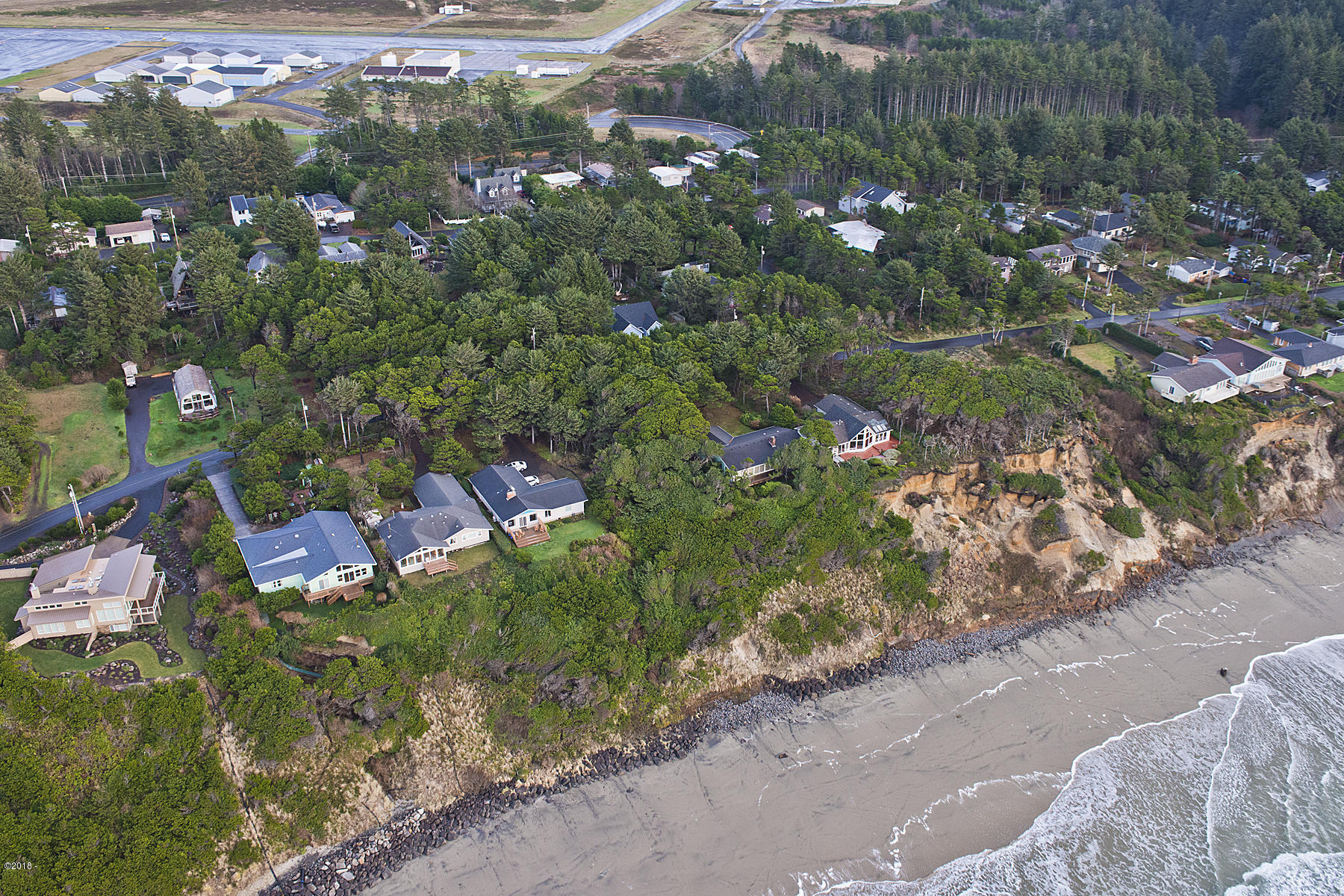 TL400 SW Marine View St, South Beach, OR 97366 - aerial