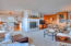 2830 NE Lake Dr, Lincoln City, OR 97367 - View to kitchen from living room