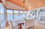 2830 NE Lake Dr, Lincoln City, OR 97367 - Dining room with vaulted ceiling