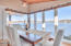 2830 NE Lake Dr, Lincoln City, OR 97367 - Lake views from sunroom dining room