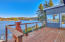 2830 NE Lake Dr, Lincoln City, OR 97367 - Deck off sunroom dining room