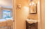 2830 NE Lake Dr, Lincoln City, OR 97367 - View to bedroom from master bathroom