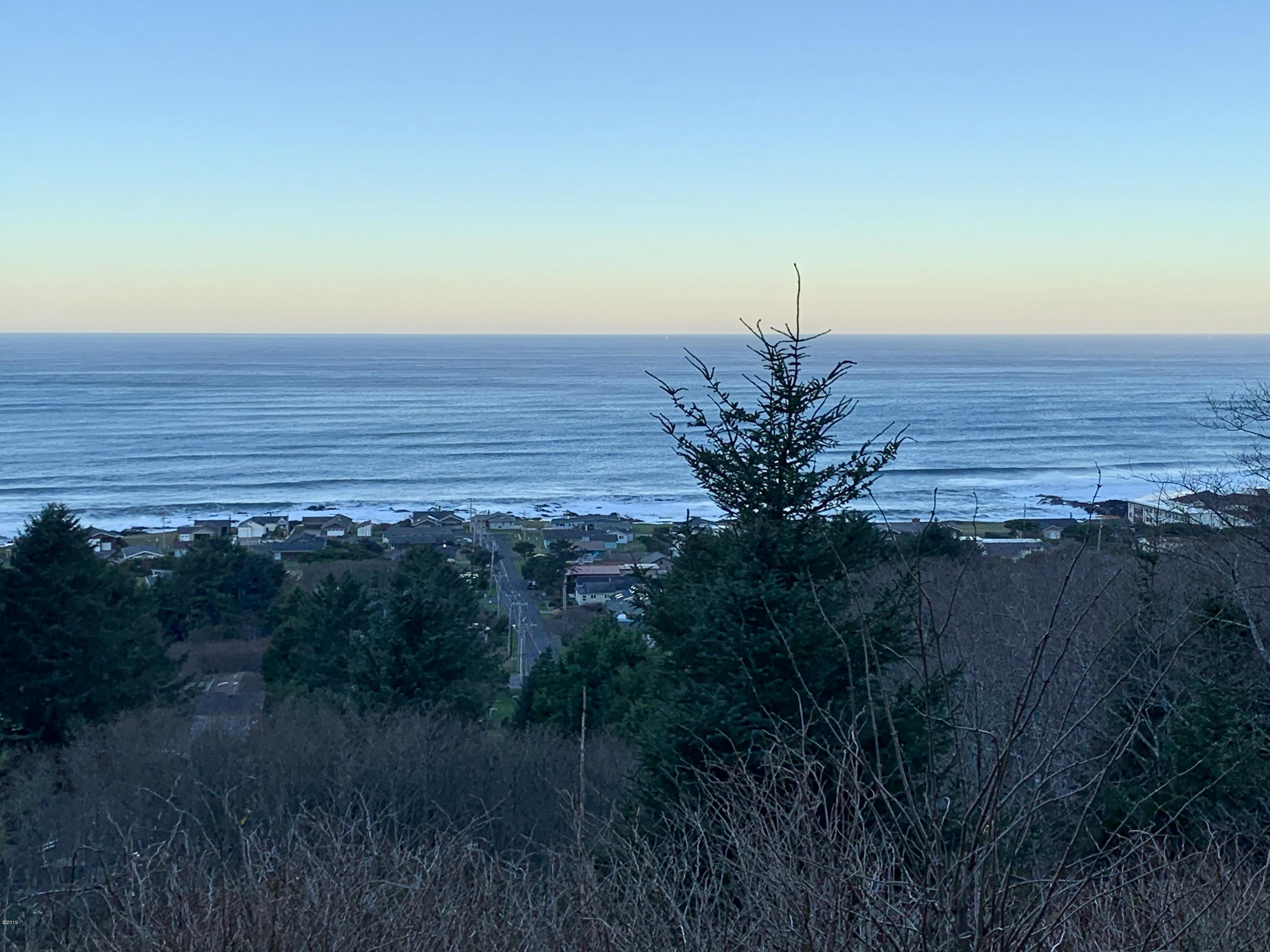 TL 2000 Hanley Dr, Yachats, OR 97498 - Top of Lot Looking West