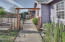 , Lincoln City, OR 97367 - Front Walk with Pocket Gate