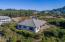 4271 NW Hidden Lake Loop, Waldport, OR 97394 - Side view of house