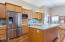35670 Sunset Dr, Pacific City, OR 97135 - Kitchen with SS appliances