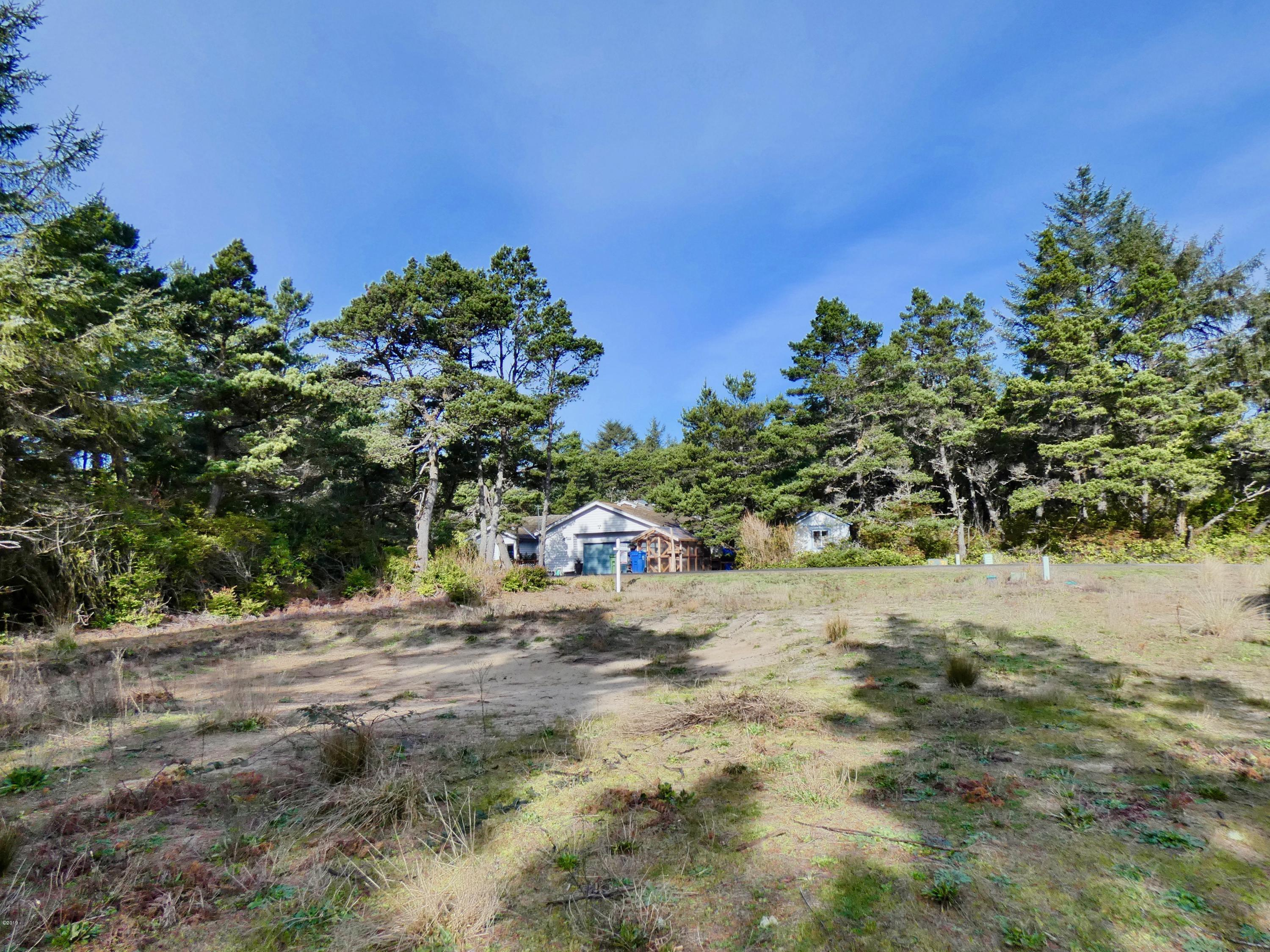 TL 3800 NW Sunahama Pl, Seal Rock, OR 97376 - Looking North on lot
