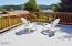 1130 NE Voyage Ave, Lincoln City, OR 97367 - Covered portion of deck