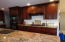 424 SW Cliff St, Depoe Bay, OR 97341 - Custom Cherry Cabinets