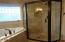 424 SW Cliff St, Depoe Bay, OR 97341 - Master Tile Shower