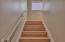 551 NW 54th St, Newport, OR 97365 - Stairs to Upper Level