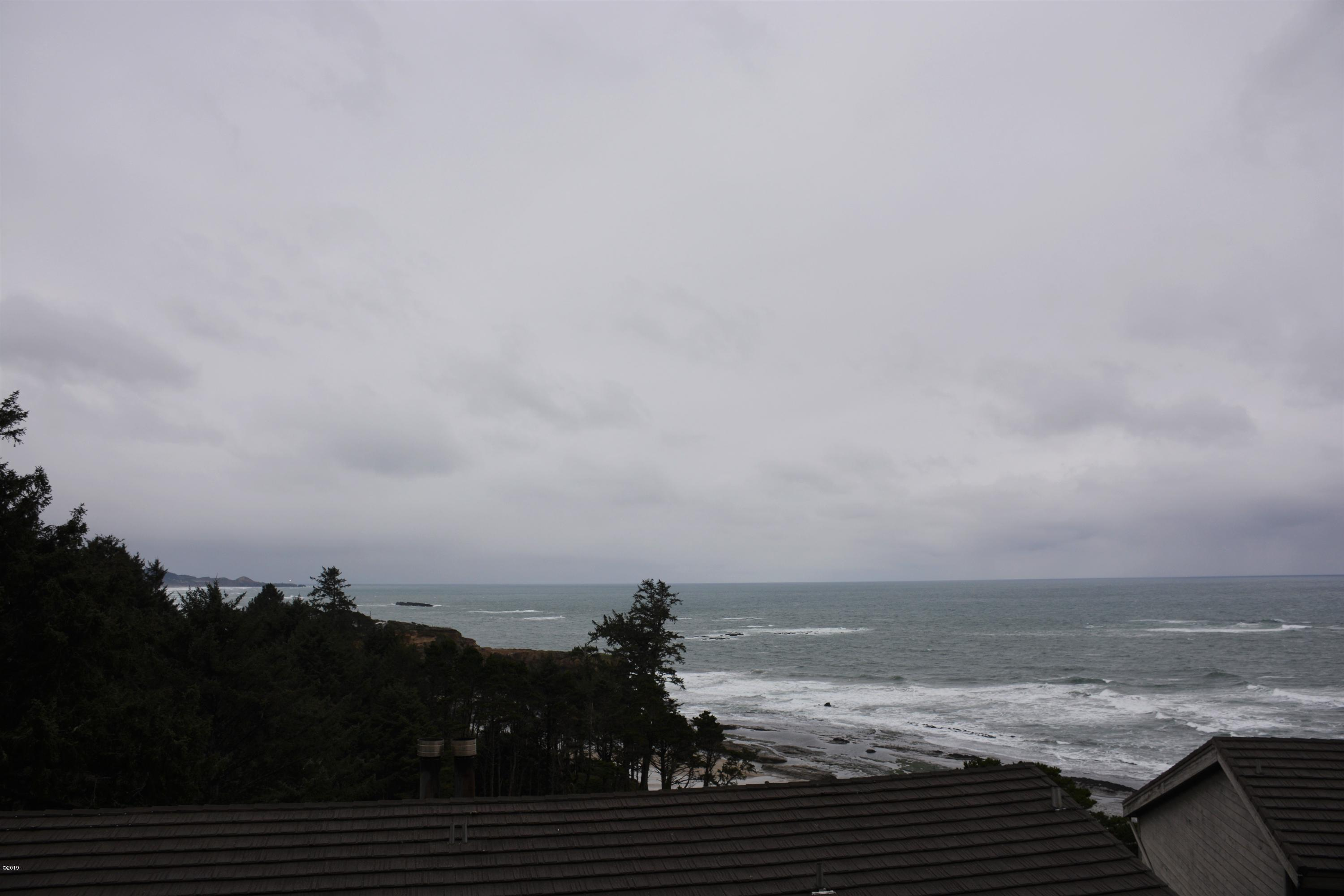 301 Otter Crest Drive, #400-401, Otter Rock, OR 97369 - View 1 - stormy day