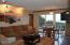 301 Otter Crest Drive, #400-401, Otter Rock, OR 97369 - Living room to deck