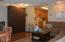 301 Otter Crest Drive, #400-401, Otter Rock, OR 97369 - Living room to kitchen