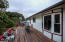 1534 NW Spring St, Newport, OR 97365 - Large back deck