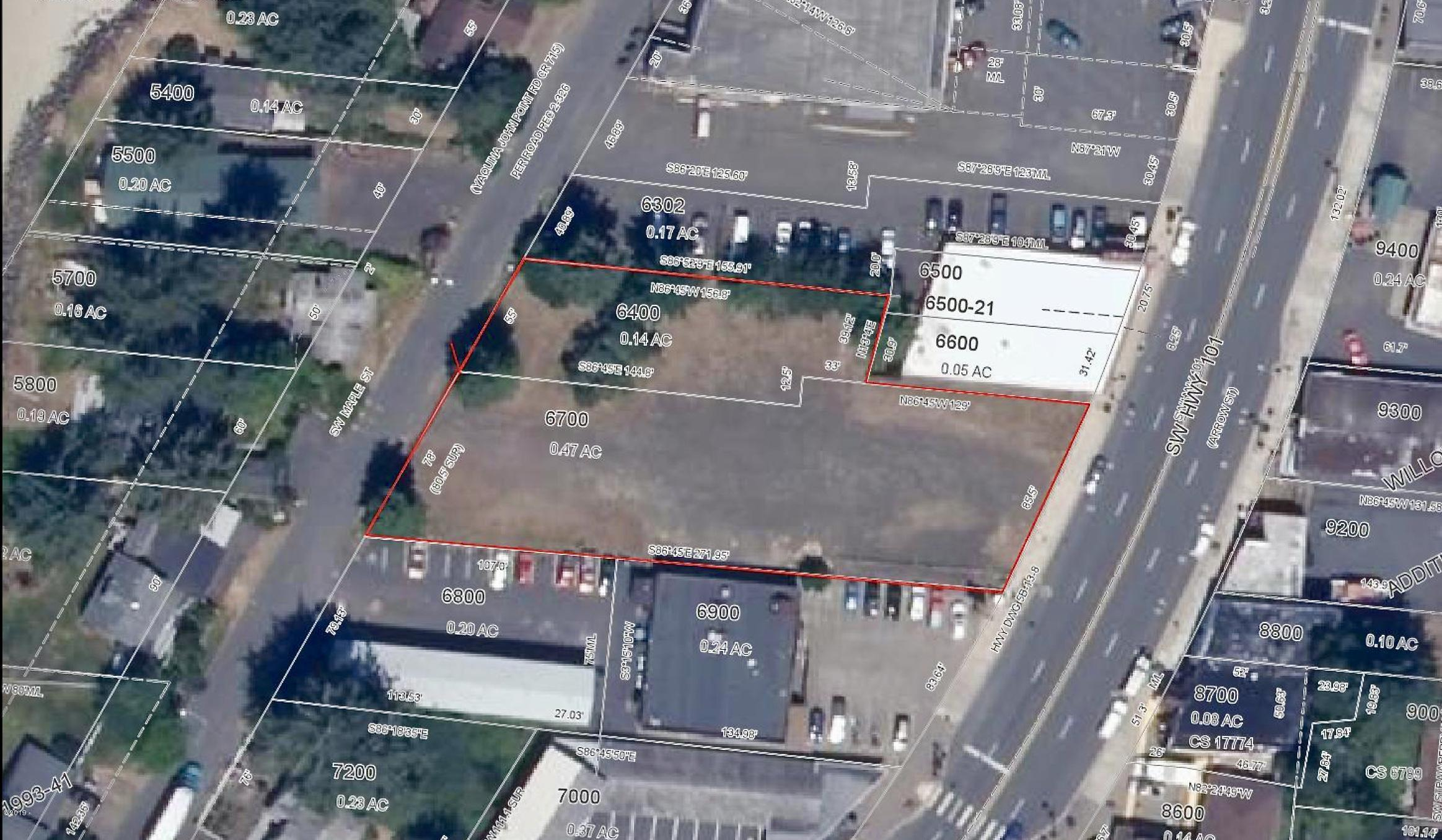 170 SW Hwy 101, Waldport, OR 97394 - Sat View