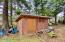 220 SE 126th Dr., South Beach, OR 97366 - Shed in front yard