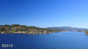 T/L 405 NE East Devils Lake Rd, Otis, OR 97368 - Drone View from Lot