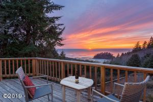 4920 Hilltop Ln, Neskowin, OR 97149 - From the Living room deck