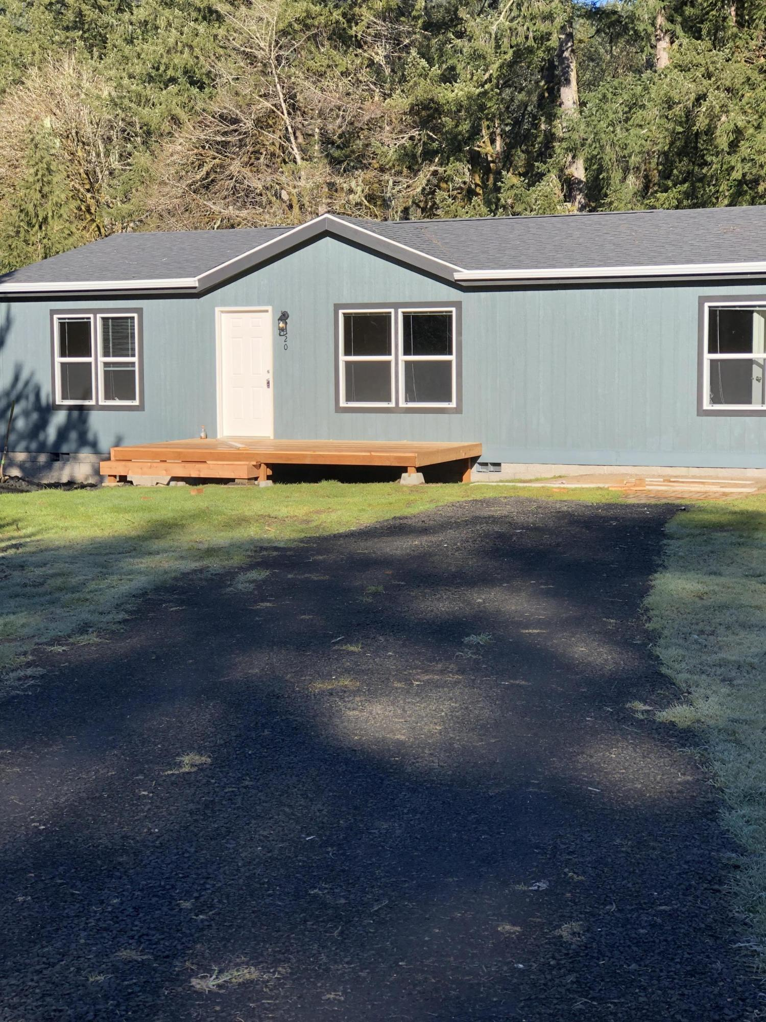 20 E Yates Rd, Alsea, OR 97324 - front of home