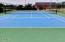 1913 NW Marineview Dr, Waldport, OR 97394 - Bayshore Tennis Court Photo