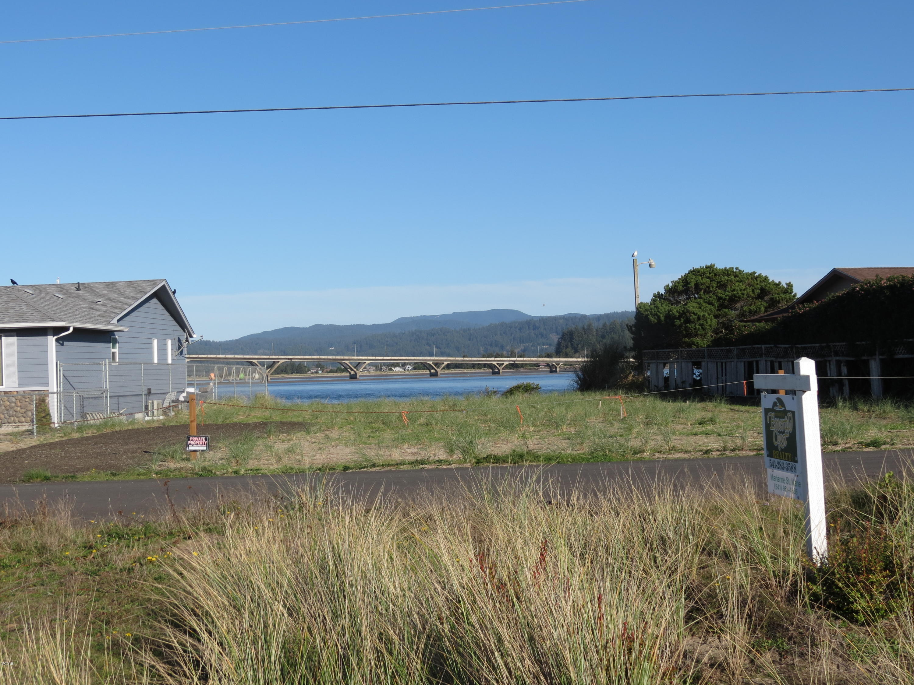 114 NW Alsea Bay Dr, Waldport, OR 97394 - View from Lot
