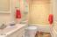 4616 S Beaver Creek Rd, Waldport, OR 97394 - Guest Bathroom