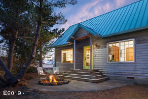 6570 Haystack St., Pacific City, OR 97135 - Exterior w/ firepit