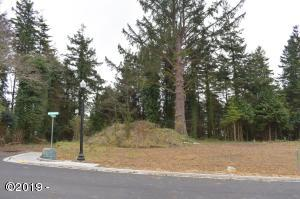 LOT #3 Lincoln Ln., Newport, OR 97365 - Front view of the lot.