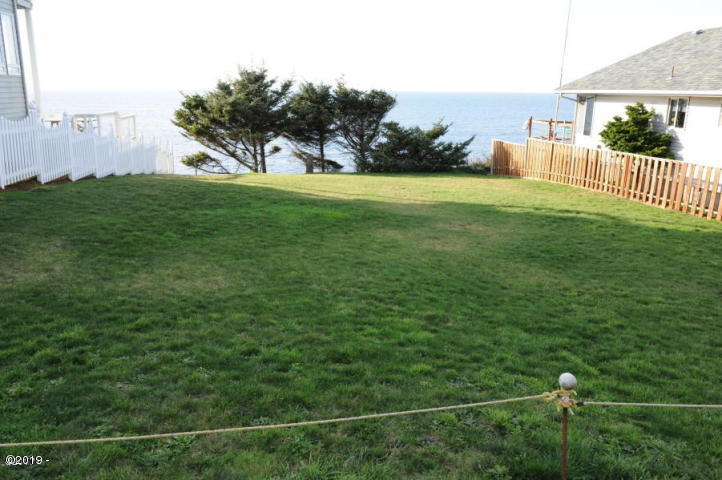 265 SW Coast Ave, Depoe Bay, OR 97341 - Front of lot.