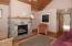 450 Edgewater, Depoe Bay, OR 97341 - Upstairs Living Room