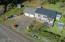 1346 Hidden Valley Road, Toledo, OR 97391 - Aerial view of home