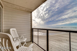 145 N Miller St, 108, Rockaway Beach, OR 97136 - View from the Balcony