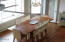 39 NE Combs Ave, Depoe Bay, OR 97341 - Vaulted ocean view dining room