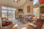 9310 Trout Pl, Lincoln City, OR 97367 - Vaulted living room
