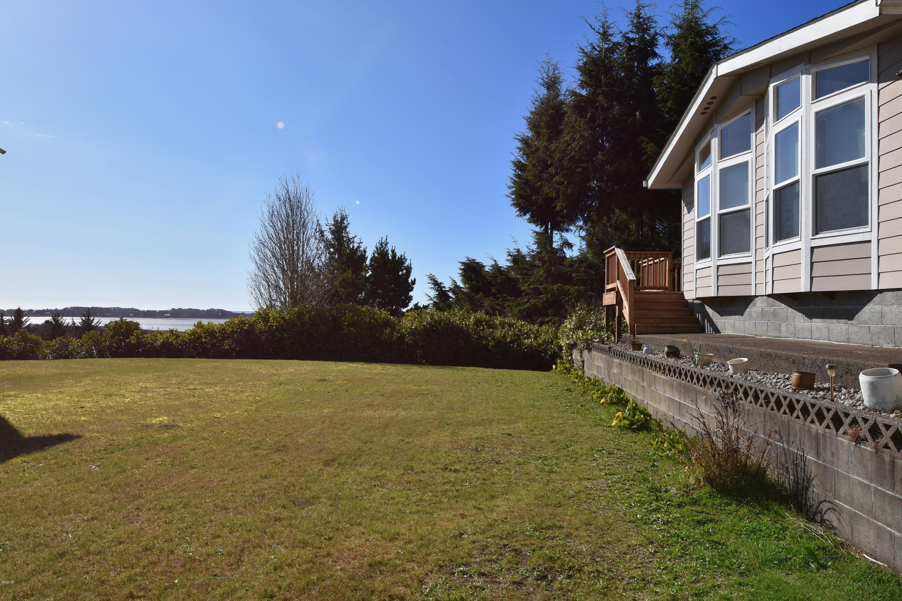 171 S Wells Dr, Lincoln City, OR 97367 - Home and view of Siletz Bay
