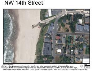 1218 NW 14th Street, Lincoln City, OR 97367 - Aerial Surveyor's Map