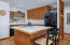 11 Bluffs Dr, Gleneden Beach, OR 97388 - Kitchen with a View