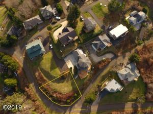 47100 BLK Hillcrest Drive, Neskowin, OR 97149 - Aerial Top Down