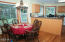 544 Lily Ct, Yachats, OR 97498 - Dining room