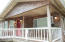 544 Lily Ct, Yachats, OR 97498 - Front porch