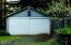 462 Elk City Road, Toledo, OR 97391 - Garage