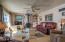 14536 S Coast Hwy, South Beach, OR 97366 - LIVING RM W/WOOD BURNING STOVE