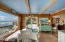 14536 S Coast Hwy, South Beach, OR 97366 - DINING ROOM LEADING TO THE DECK